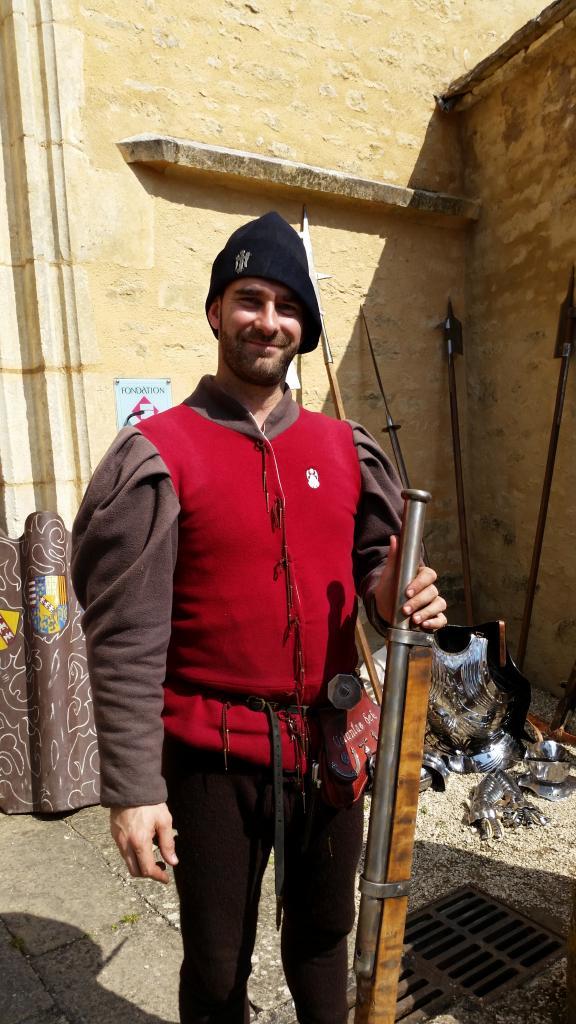 Un artilleur de la Massenie de Saint-Michel 1473