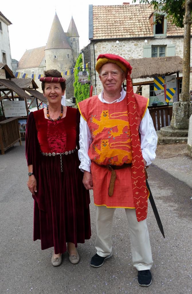 Lisbeth et Carl, Gente Dame et Gentilhomme
