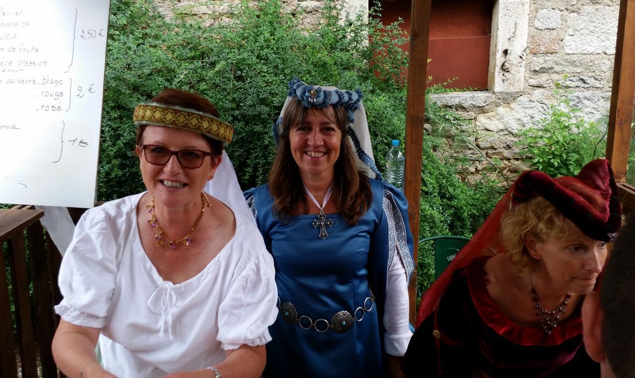 Notre trio de Miss Bénévoles...