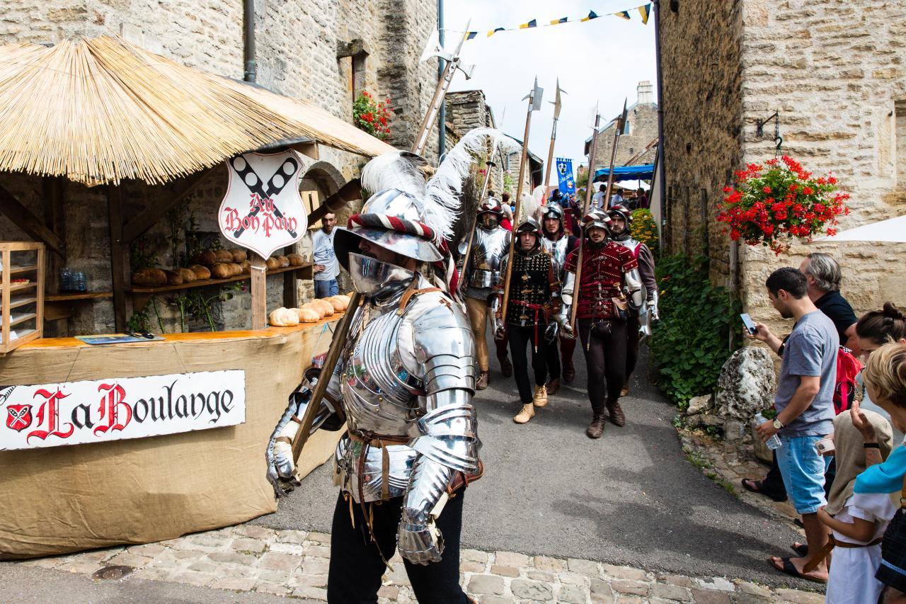 Les Gens d'Armes de la Massenie de Saint-Michel 1473