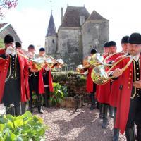 Les sonneurs de trompe du Débuché de Bourgogne