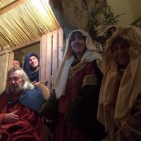 24 déc. 22h30, La crèche vivante, d'après La Nativité de Robert Campin