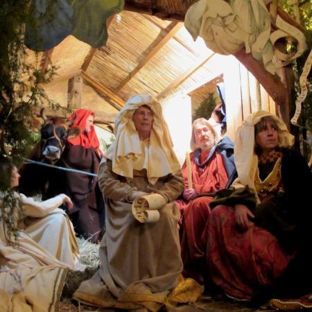 La Messe de Noël 2014, la crèche vivante.