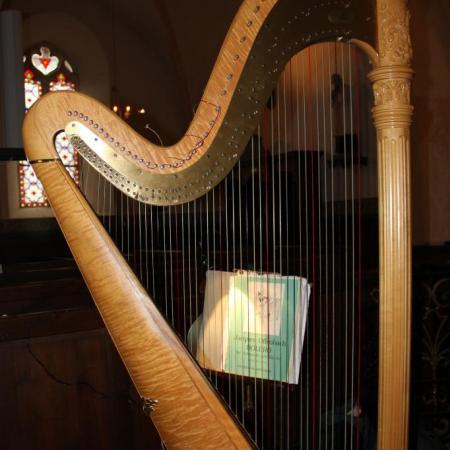 La harpe de Claire Le Fur