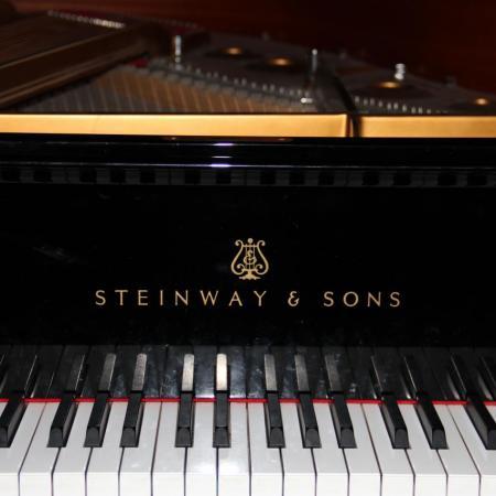 Le clavier du Steinway & Sons