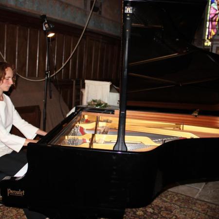Juliette Mazerand, interpréte magistrale de ces pièces virtuoses