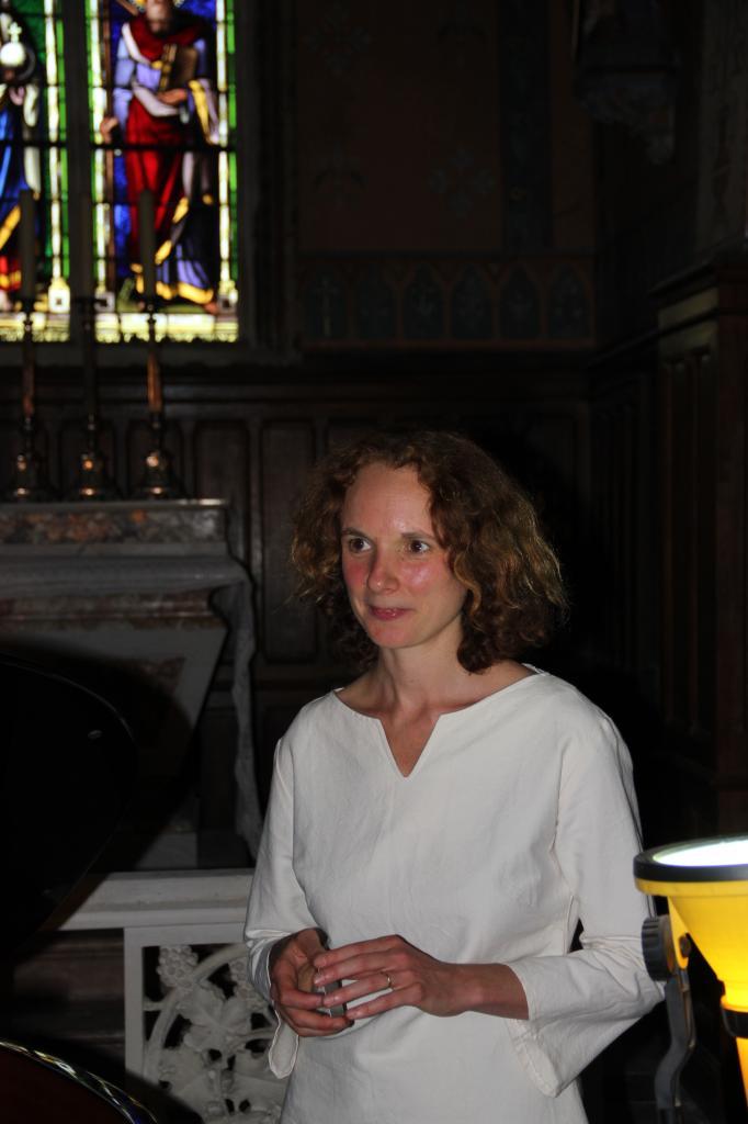 Juliette Mazerand, après son merveilleux concert...