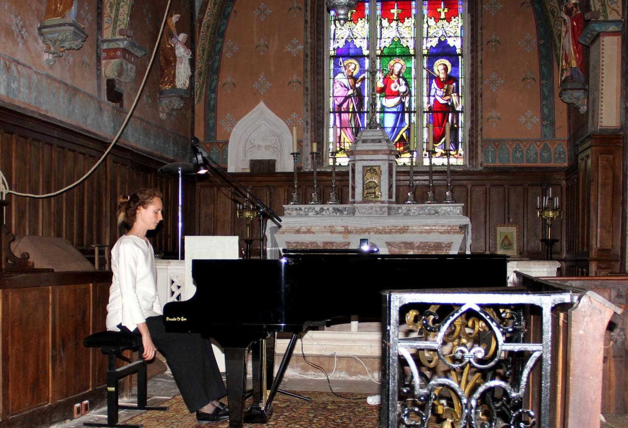 Juliette Mazerand en concert