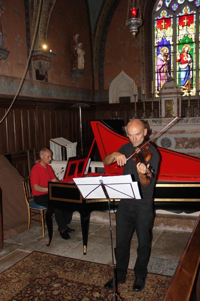 Olivier Pesenti, clavecin - Hugues Roumy, violon