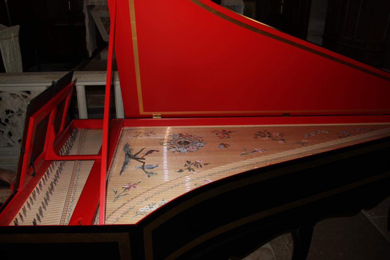 Le clavecin d'Olivier Pesenti