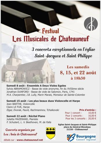 Les Musicales de Châteauneuf